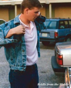 Oh, the days of jean jackets and Polos...