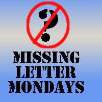 missing letter banner