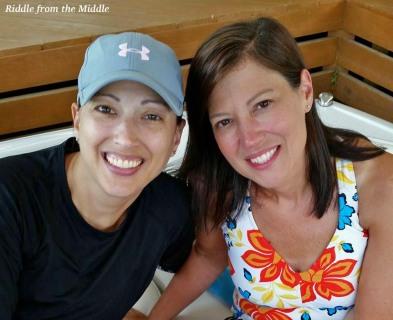 Betsy&me at lake
