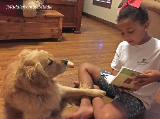 reading with Sarah